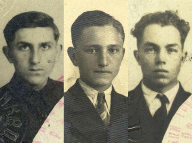 Расстрелянные НКВД украинцы, фото из свободных источников