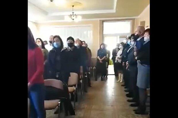 депутаты на Закарпатье, скриншот с видео