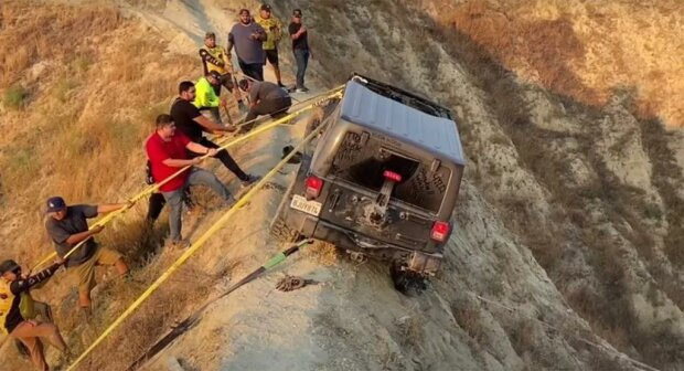 Jeep Wrangler, скриншот из видео