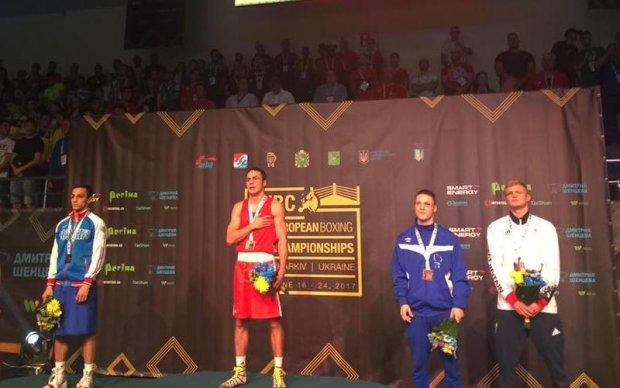 Український боксер побив росіянина і став чемпіоном Європи