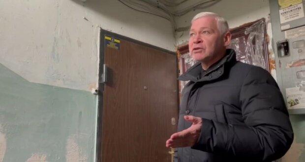 Терехов, скриншот из видео