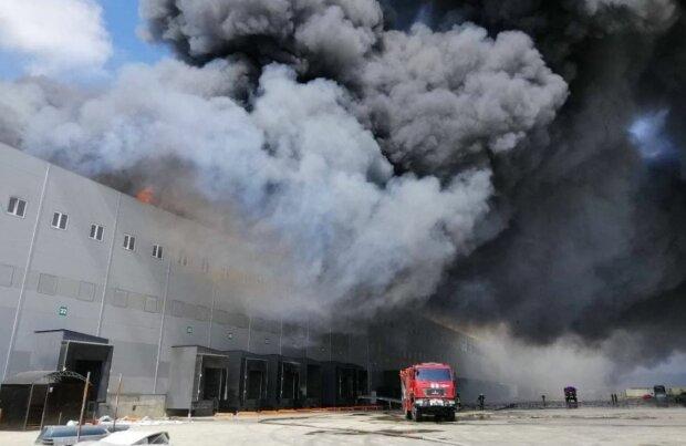Пожар под Одессой, фото: ГСЧС Украины/Facebook