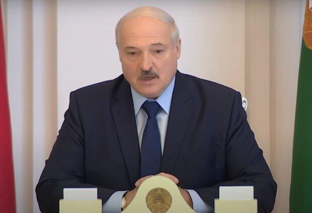 Лукашенко, скриншот: Youtube