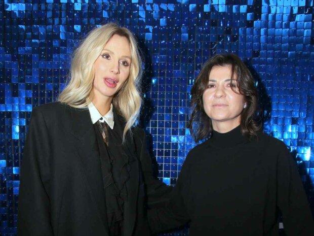 Светлана Лобода и Нателла Крапивина, фото -  Pinterest