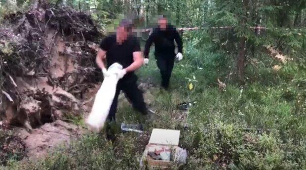 Під час навчань на кордоні з Білоруссю СБУ виявила реальний схрон зі зброєю, скріншот