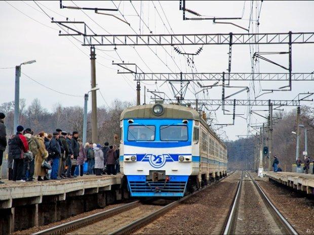 Електрички в Києві