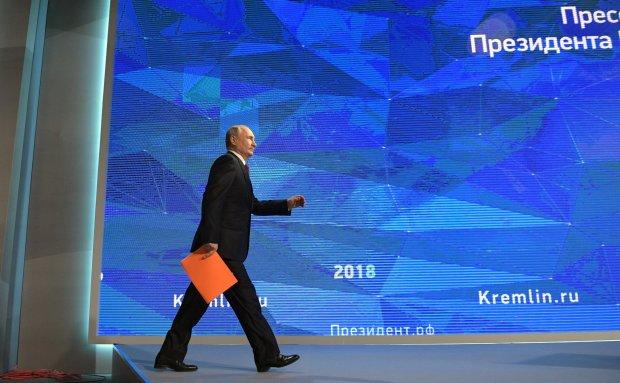 Велика конференція Путіна: агресор відповів про окупацію Донбасу та Керченську кризу