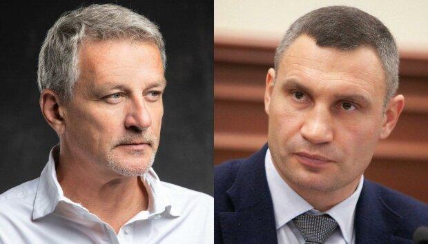 Андрій Пальчевський і Віталій Кличко