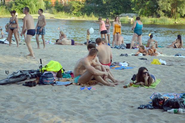 У Києві на пляжах відбуваються дивні речі: куди краще не потикатися