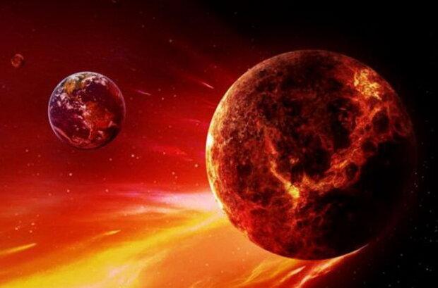 """Вдавилася Сонцем: планета-вампір Нібіру вибухнула космічними """"кулями"""", рикошет дістався Землі"""