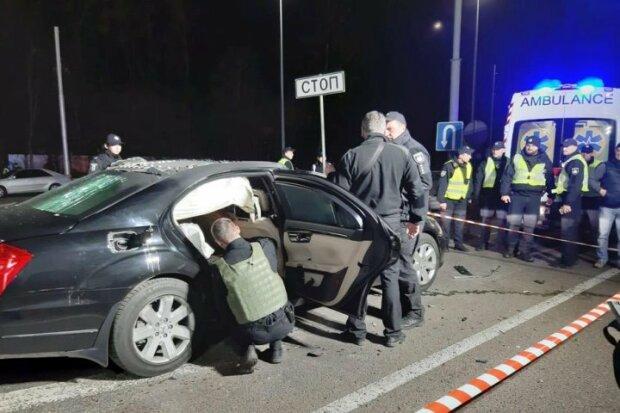 Теракт в Киеве унес жизнь известного бизнесмена: жуткий момент попал на камеру