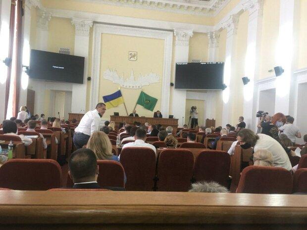 сессия Харьковского горсовета, источник: Телеграм