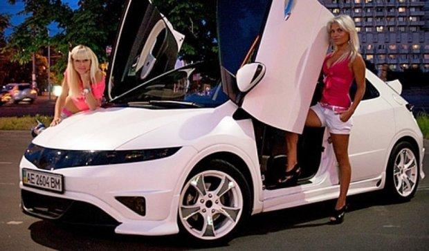 Honda Civic на українських дорогах (фото)