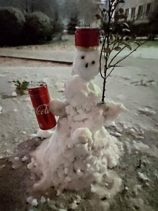 До Запоріжжя прийшла зима, фото:  ZаБор