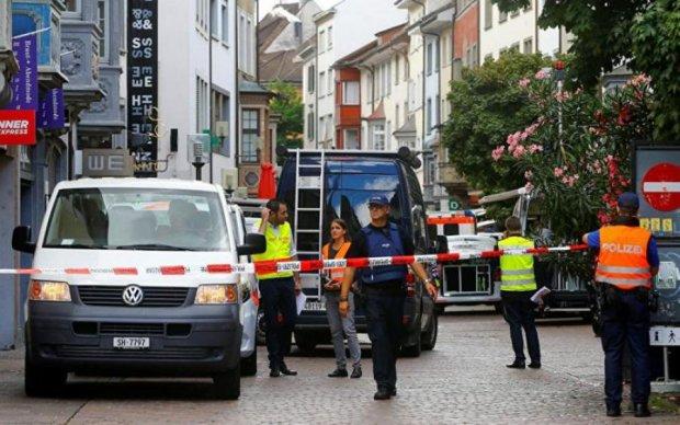 У Швейцарії невідомий влаштував різанину: є постраждалі
