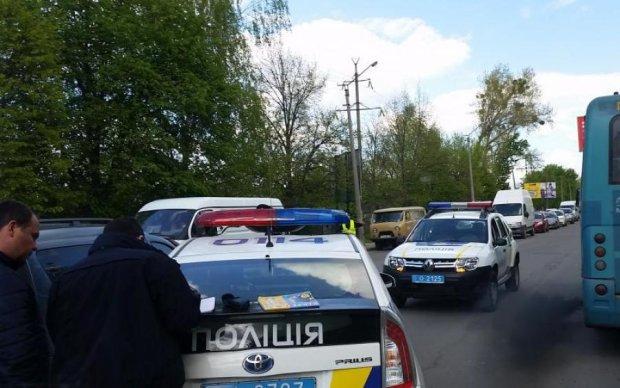 Жуткое ДТП на Ровенщине: полицейский пост сровняли с землей
