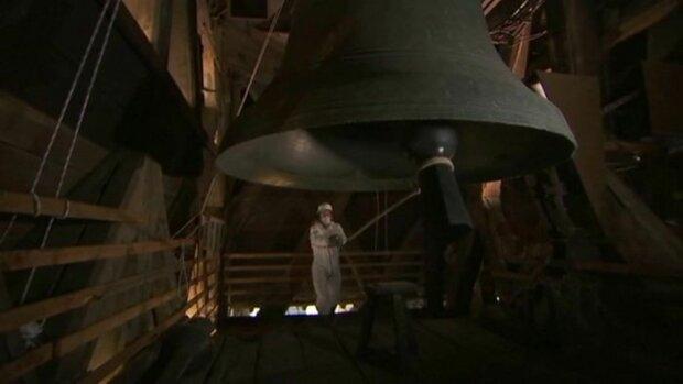 Великий дзвін Нотр-Даму, скрін з відео