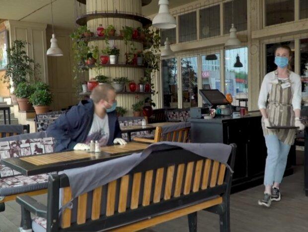 Ресторан на карантині, скріншот відео