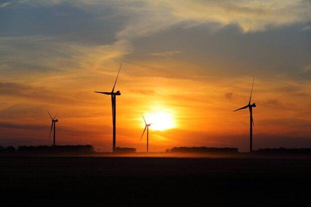 енергетика, вітряні генератори