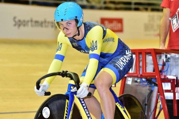 Украинская велосипедистка выиграла золотую медаль, обогнав россиянку