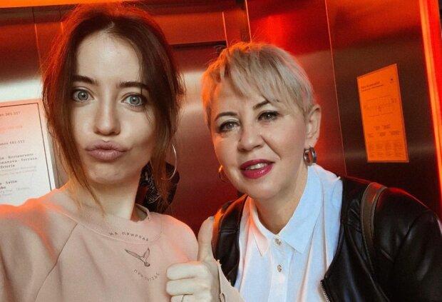 Надя Дорофєєва і її мама Ольга, фото Інстаграм