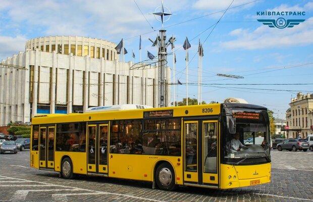 """Громадський транспорт - фото зі сторінки """"Київпастранс"""" у Фейсбуці"""