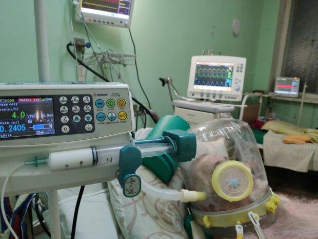 Как лечат пациентов с коронавирусом в Киеве, фото: Telegram