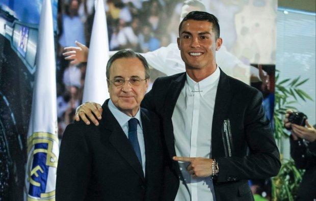 Роналду в Реалі. Президент мадридців анонсував повернення португальця