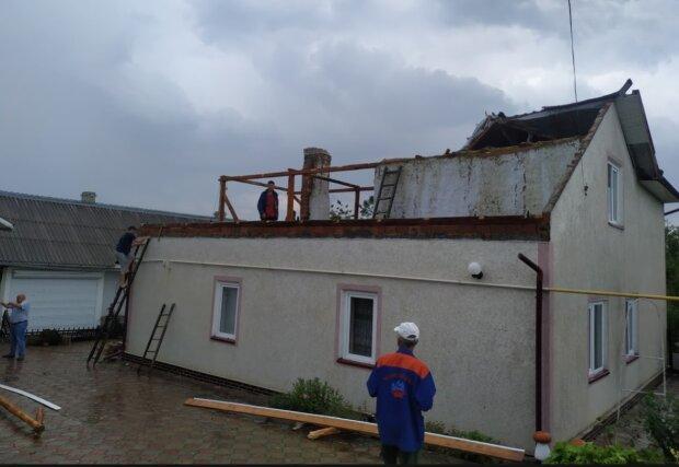 Наслідки урагану, фото з фейсбук