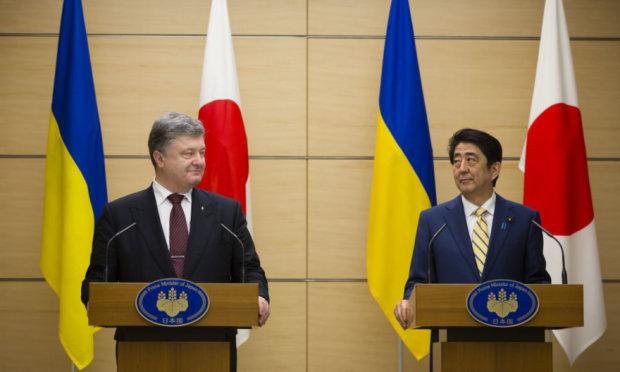 Порошенко и Синдзо Абэ