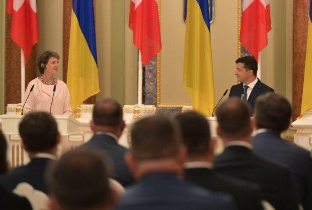 Візит президентки Швейцарії Симонетти Зоммаруги в Україну, фото: president.gov.ua