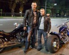 Олександр Густєлєв і Віталій Кличко