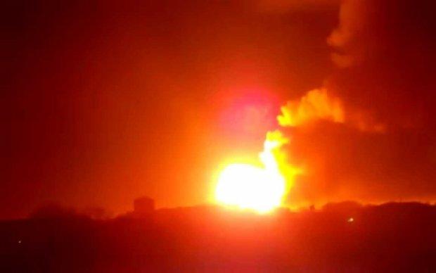 Матиос назвал причину взрывов на складе под Харьковым