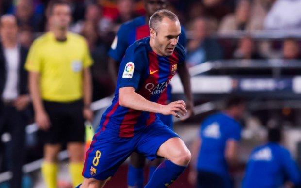 Иньеста признался, что в детстве не хотел играть за Барселону