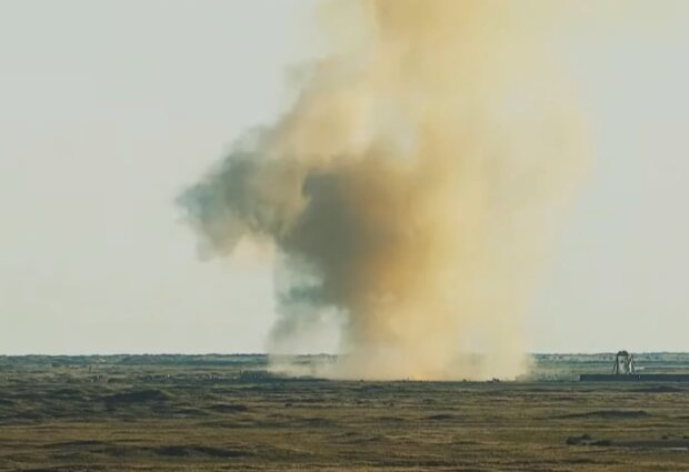 Взрыв SpaceX Starship, скриншот видео