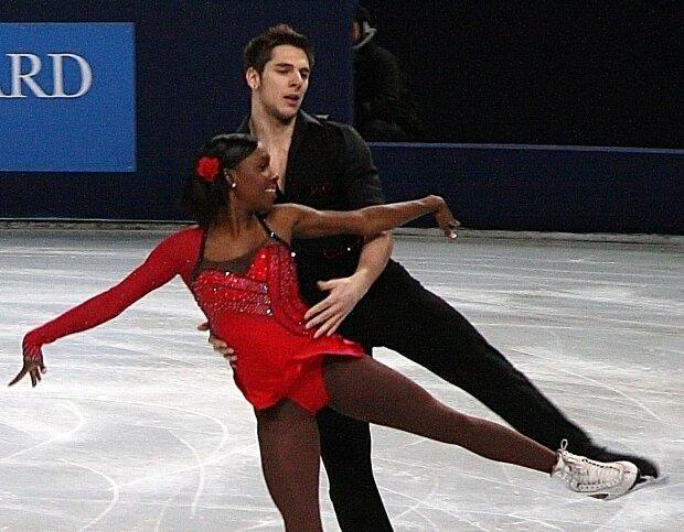 Ванесса Джеймс и Морган Сипре, фото Wikimedia Commons