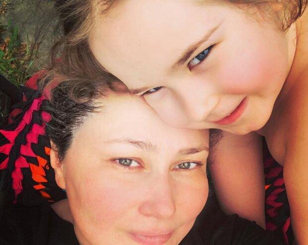 Олена Мозгова з донькою Соломією, фото Instagram