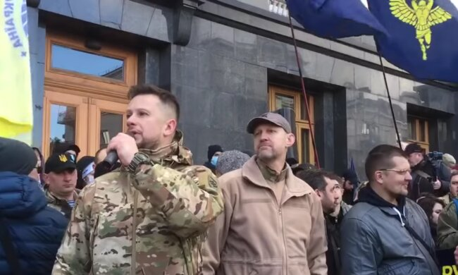 лидер Нацкорпуса Андрей Билецкий