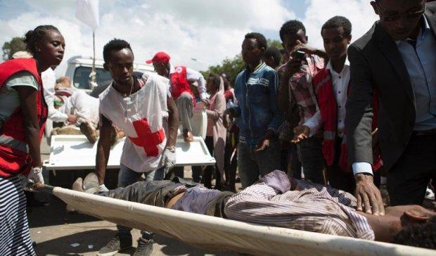 Религиозный праздник закончился трагедией в Эфиопии