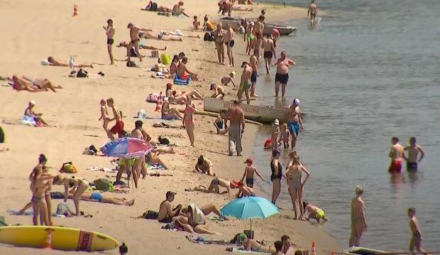 Скрін, відео YouTube пляж