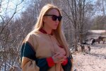 Оля Полякова, скрін з відео