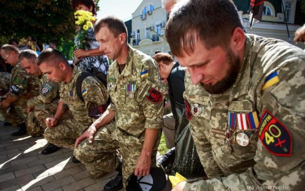 Иловайская трагедия: в сети появились душераздирающие фото с панихиды по украинским героям
