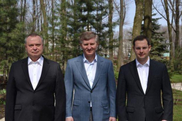 В день самогубства губернатора Ахметов був у Запоріжжі