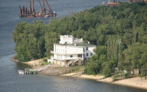 особняк на Трухановому острові, фото прокуратури Києва