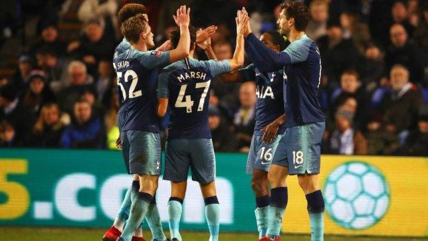 Тоттенгем забив сім голів у матчі Кубка Англії та встановив рекорд