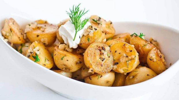 Смажена картопля з часником: швидкий і смачний рецепт