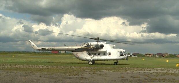 """Франковчан напугал неизвестный вертолет """"с бочкой"""", - летал над домами и чем-то поливал"""