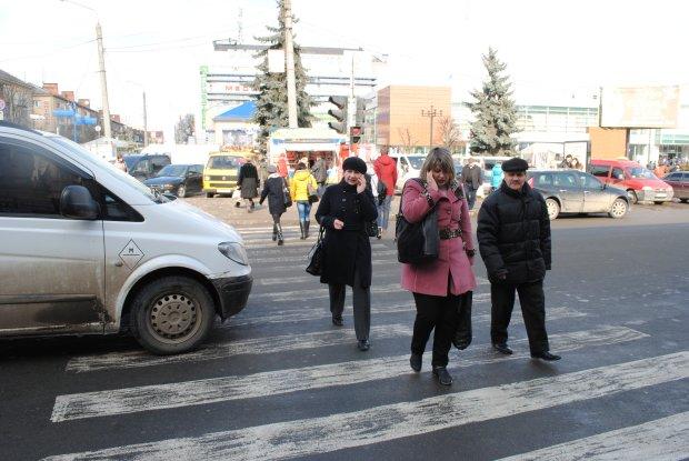 До двох тисяч: неуважних пішоходів каратимуть гривнею