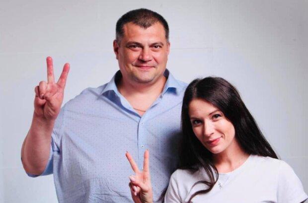 Ольга Савченко з Юрієм Корявченковим, скрін - Фейсбук