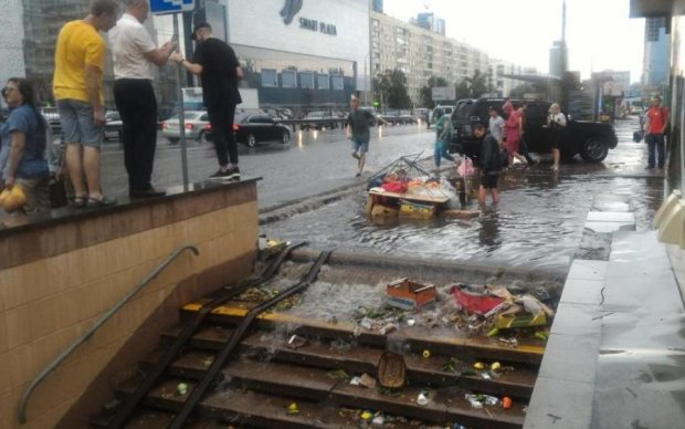 Армагеддон в столице: глава Киевавтодора нашел объяснение потопа в Киеве